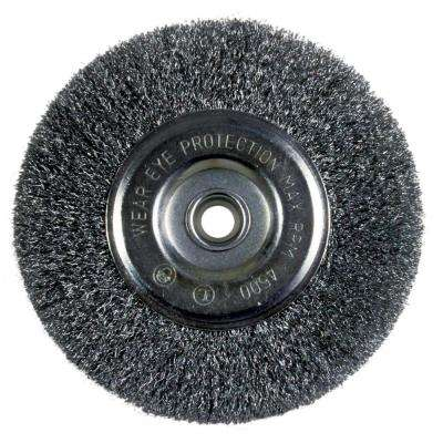 6 in. Fine Bench Wire Wheel