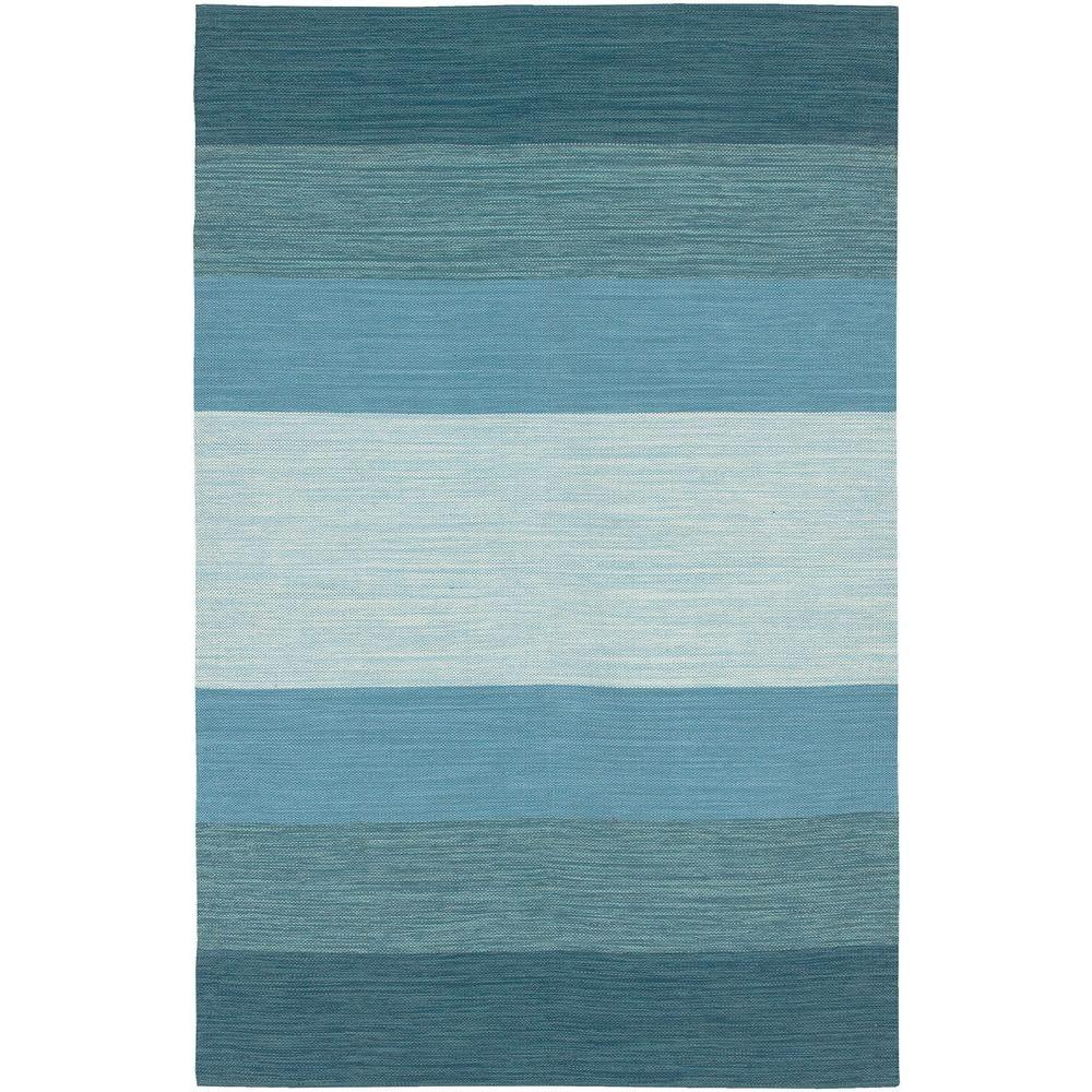 India Blue 2 ft. x 3 ft. Indoor Area Rug
