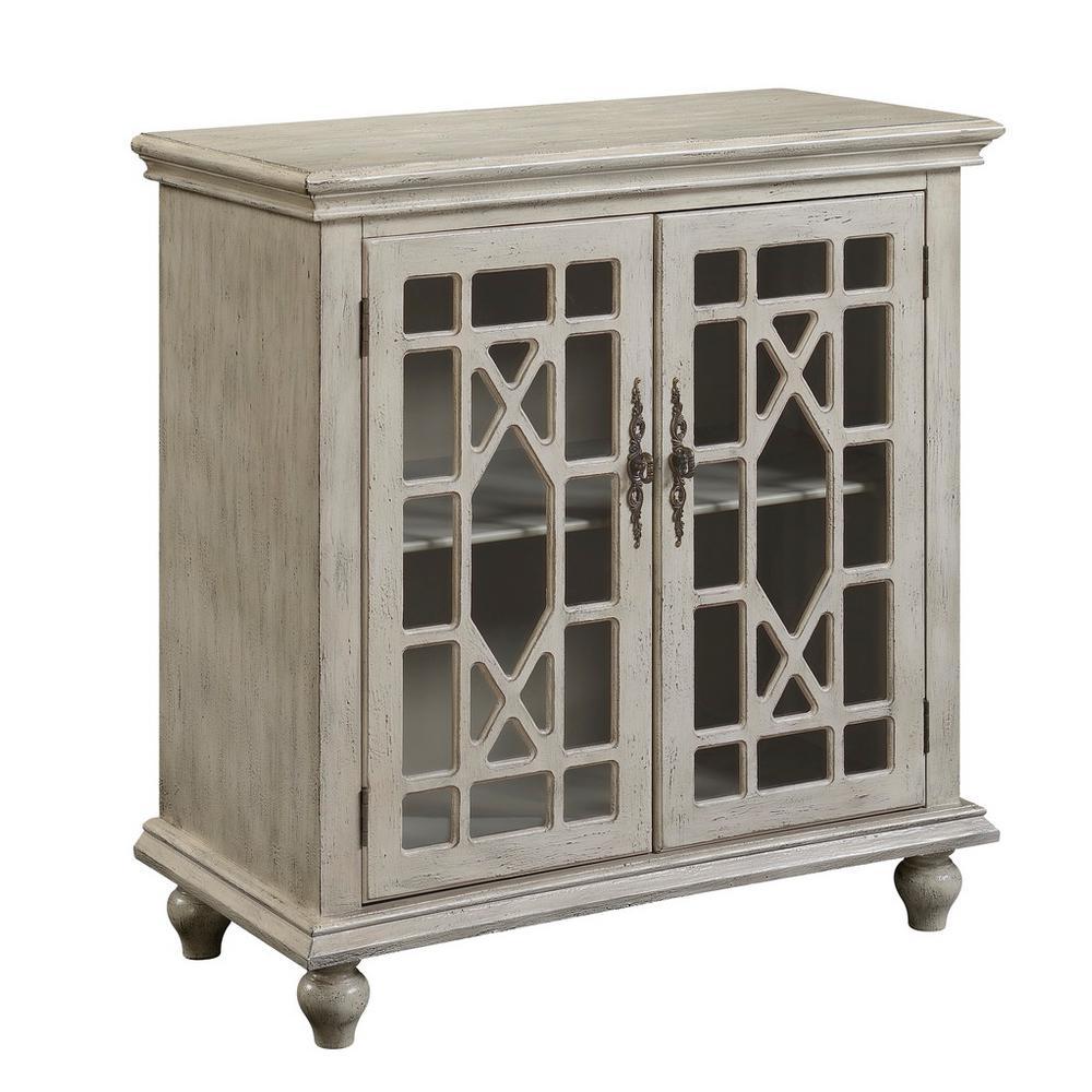 Millstone Texture Ivory 2-Door Cabinet