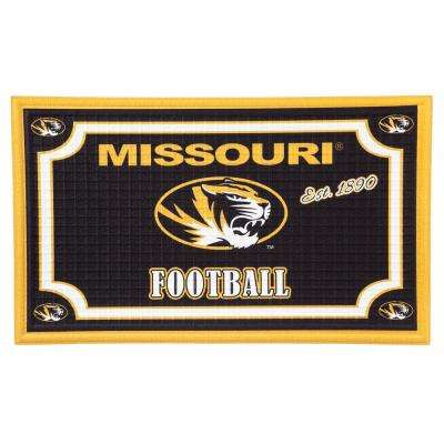 University of Missouri 18 in. x 30 in. Embossed Welcome Mat