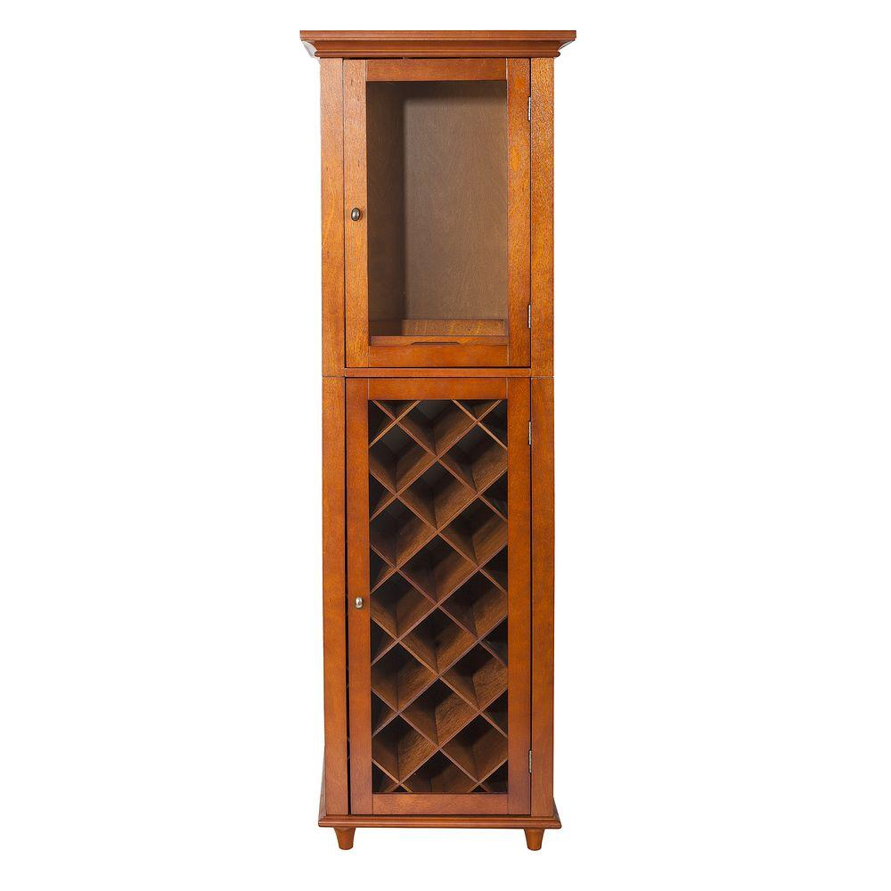 Elegant Home Fashions Mahogany (Brown) Bar Cabinet