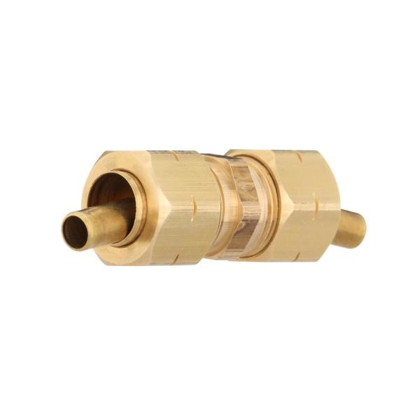 3/8 in. Compression Brass Coupling Fitting (5-Pack)