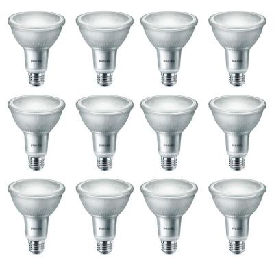 75-Watt Equivalent PAR30L LED Warm Glow Bright White (12-Pack)