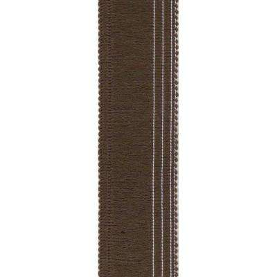 Mocha 1.5 in. x 30 in. Rug Runner Edge