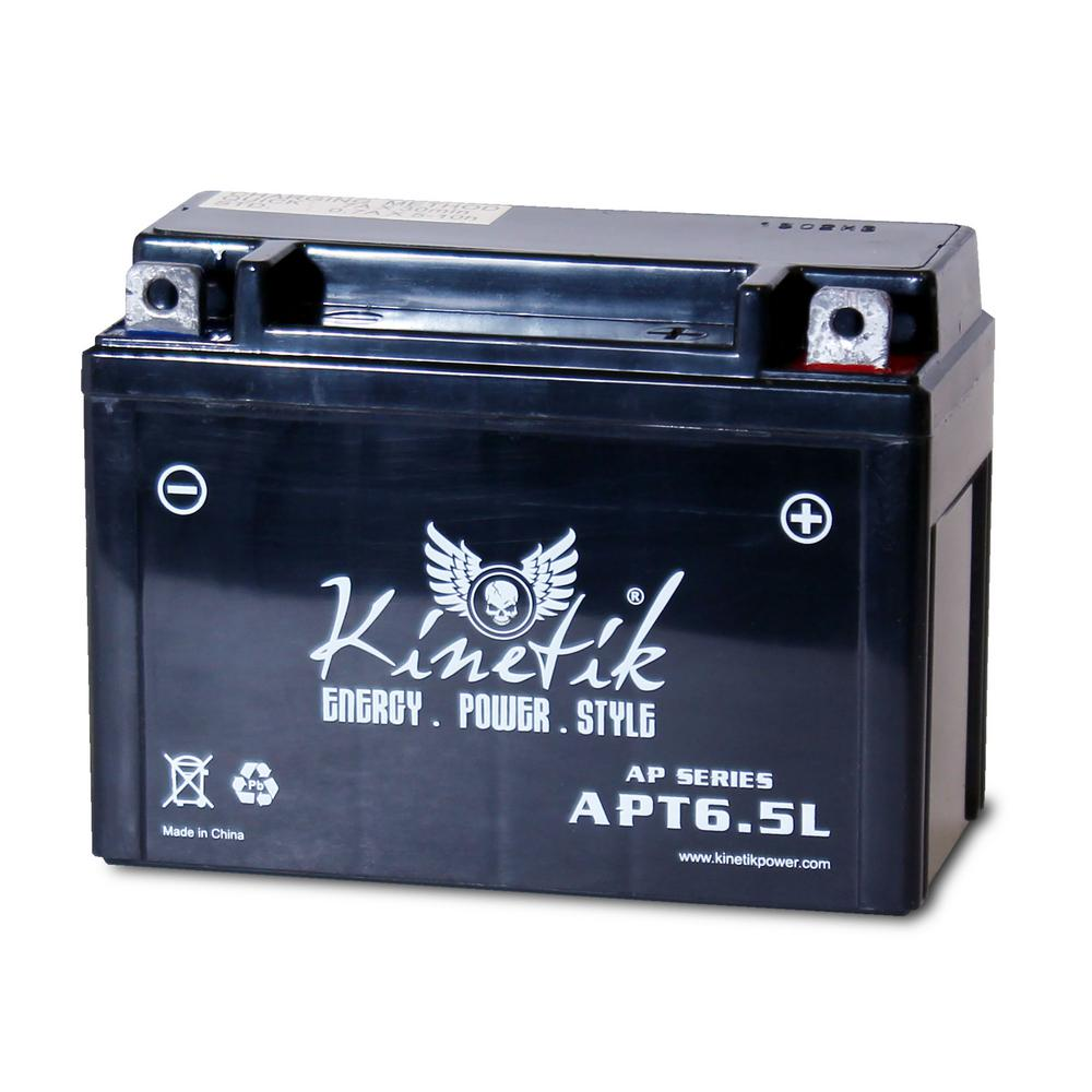 The Upgrade Group Sealed AGM 12-Volt 6.5 Ah Capacity Term...