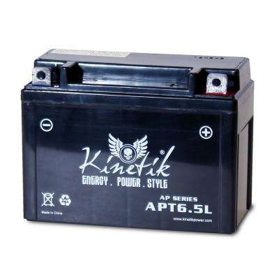 Sealed AGM 12-Volt 6.5 Ah Capacity Terminal F Battery