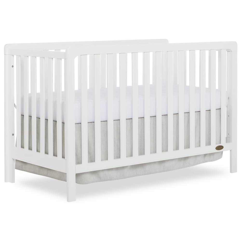 Ridgefield White 5-in-1 Convertible Crib