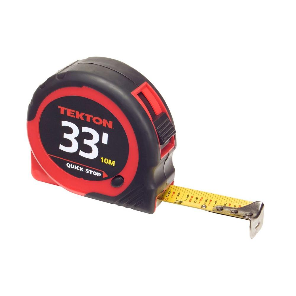 TEKTON 33 ft. x 1 in. Tape Measure