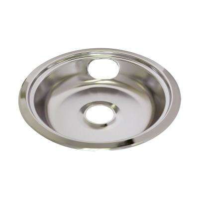 8 in. GE/Hotpoint Drip Bowls in Chrome (6-Pack)
