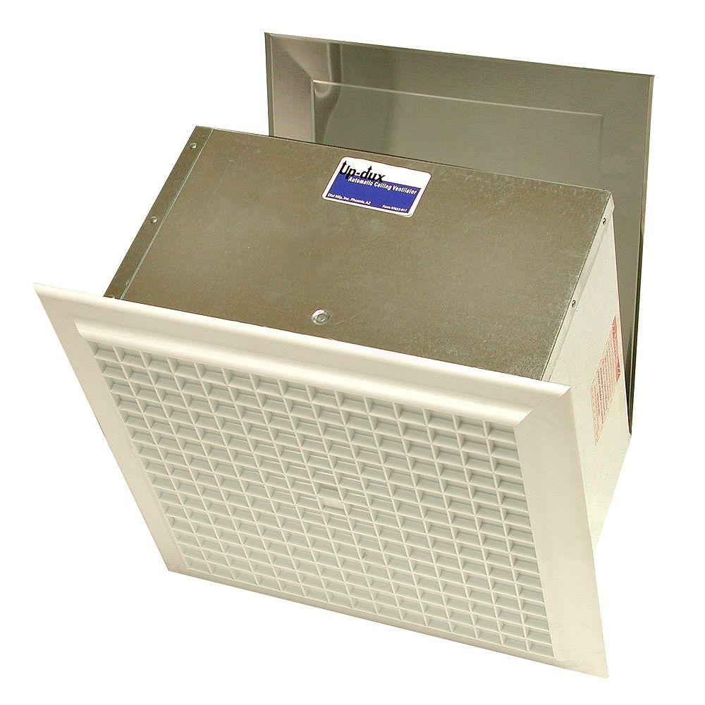 up-dux 14 in. x 7-1/4 in. evaporative cooler ceiling vent-7610