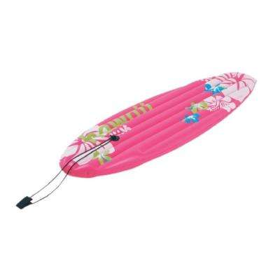 59 in. Pink Surfboard-Inspired Inflatable Float