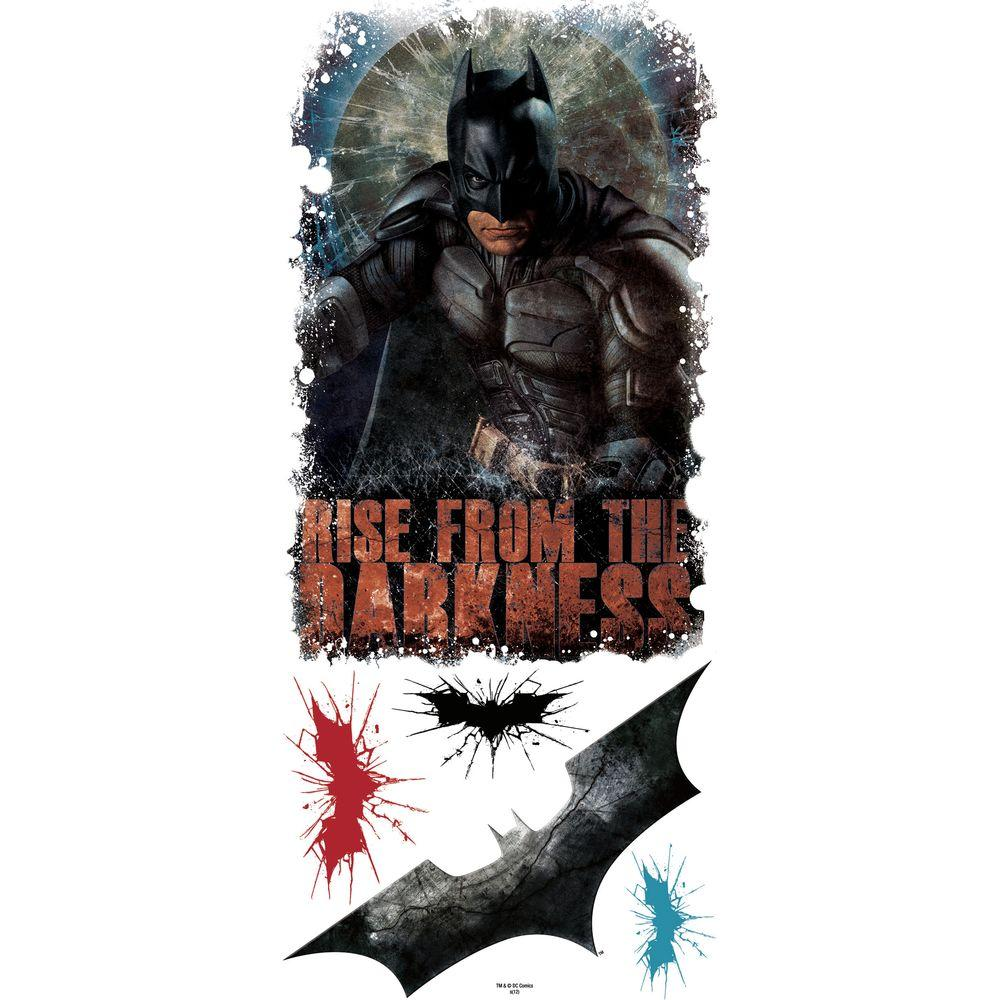RoomMates Batman - Dark Knight Rises - Darkness Giant Peel and Stick Wall Decals