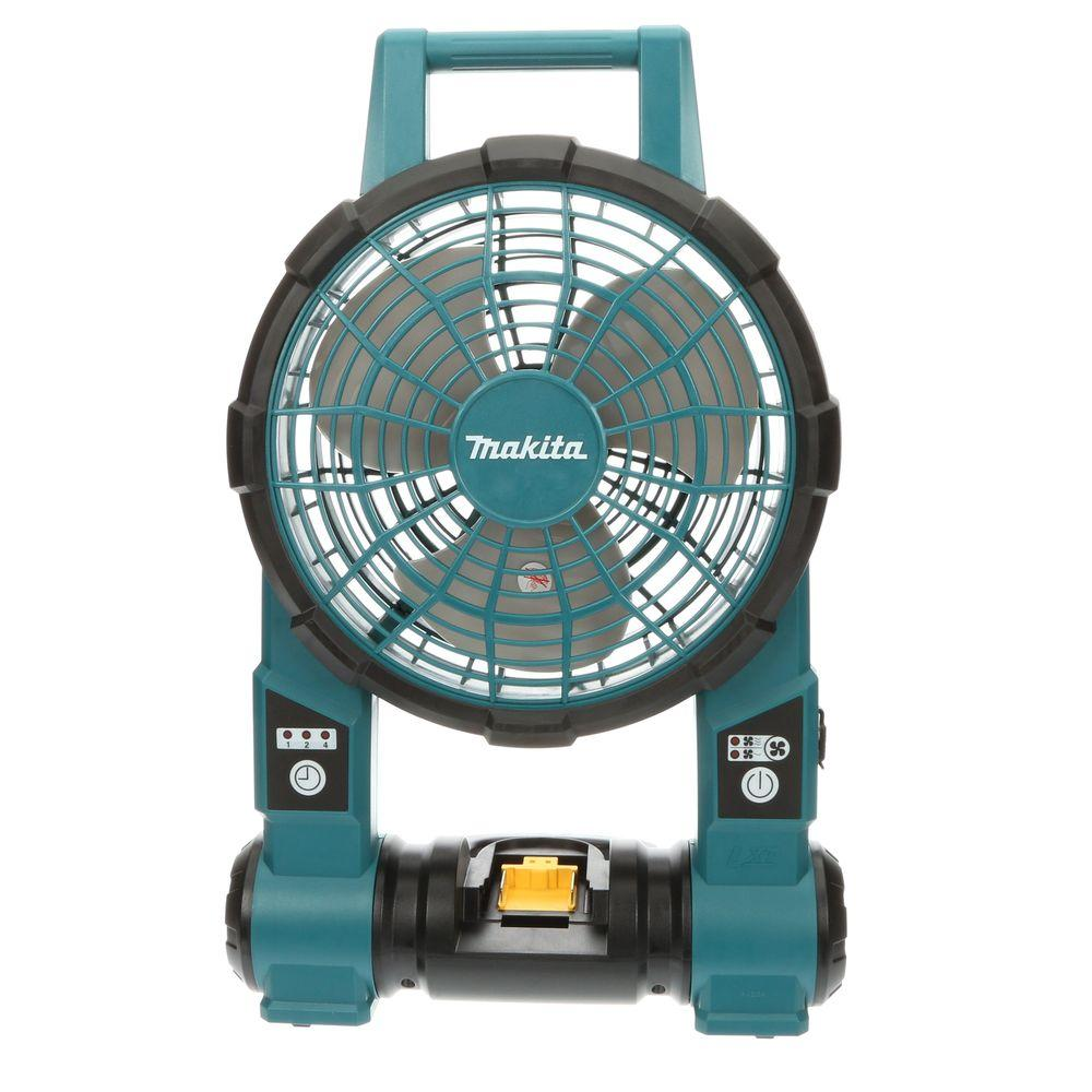 Makita 18-Volt LXT Lithium-Ion Cordless Jobsite Fan (Tool-Only)