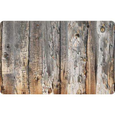 Multi Color 23 in. x 36 in. Neoprene Cabin Creek Door Mat