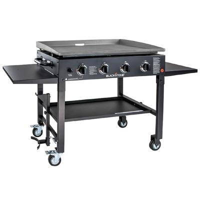 Blackstone 36 in. Propane Gas Griddle Cooking Stations, Black