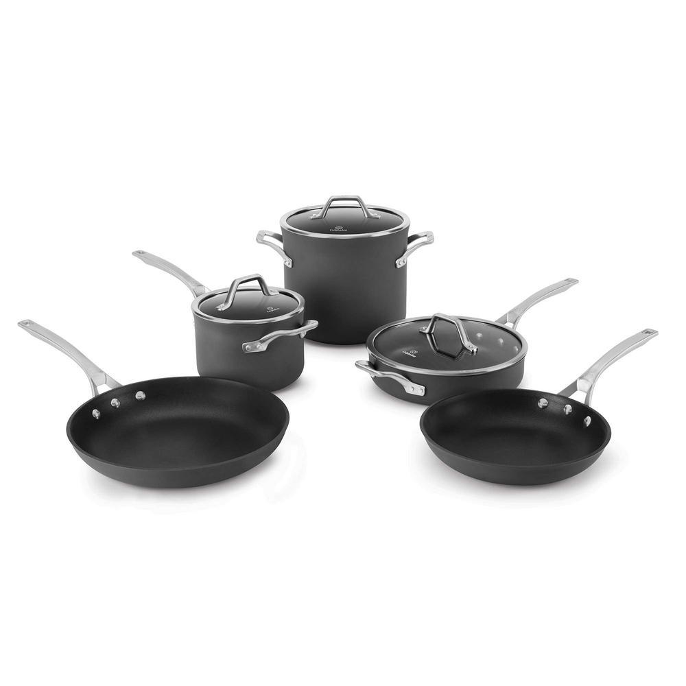Calphalon Signature 8-Piece Non-Stick Cookware Set by Calphalon