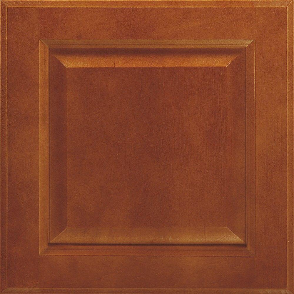 Thomasville 14.5x14.5 in. Cabinet Door Sample in Langston Maple Brierwood