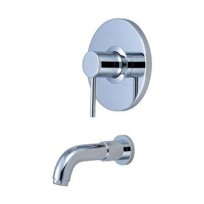 Motegi 1-Handle Tub Trim Kit in Polished Chrome (Valve Not Included)