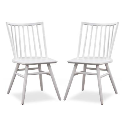 Fine White Solid Wood Dining Chairs Kitchen Dining Room Ibusinesslaw Wood Chair Design Ideas Ibusinesslaworg