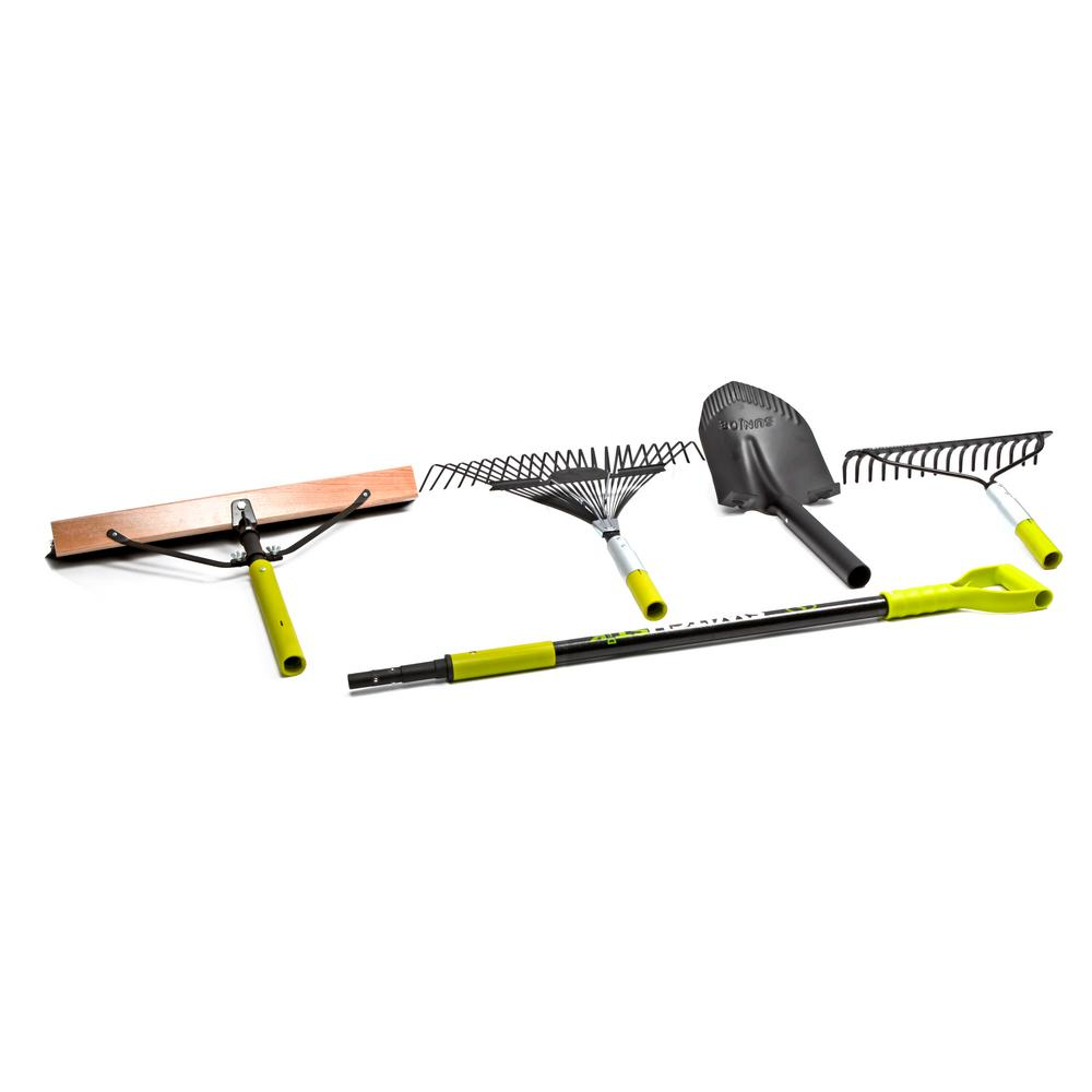 Switchstik 5-Piece Interchangeable Lawn and Garden Tool