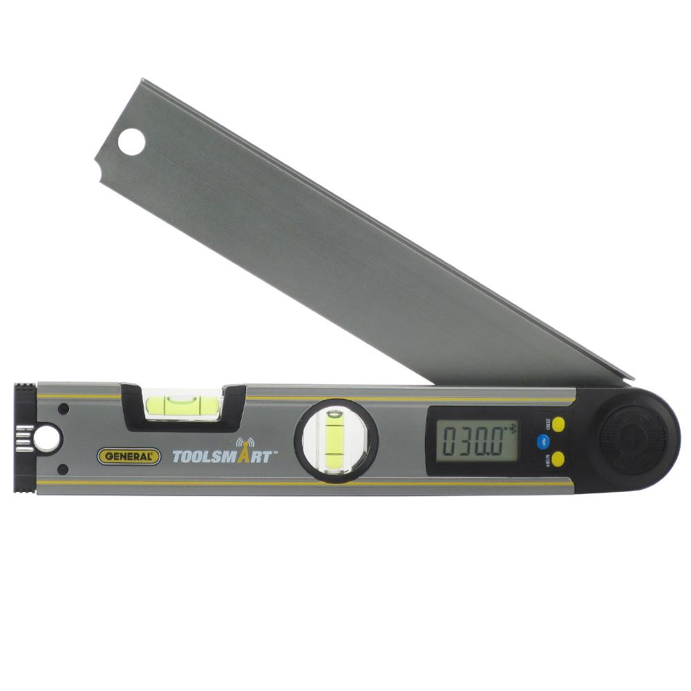 Digital Angle Finder >> General Tools Toolsmart Bluetooth Connected Digital Angle Finder