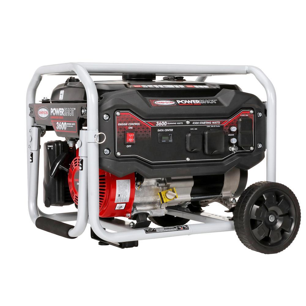 PowerShot Portable 3600-Watt Generator