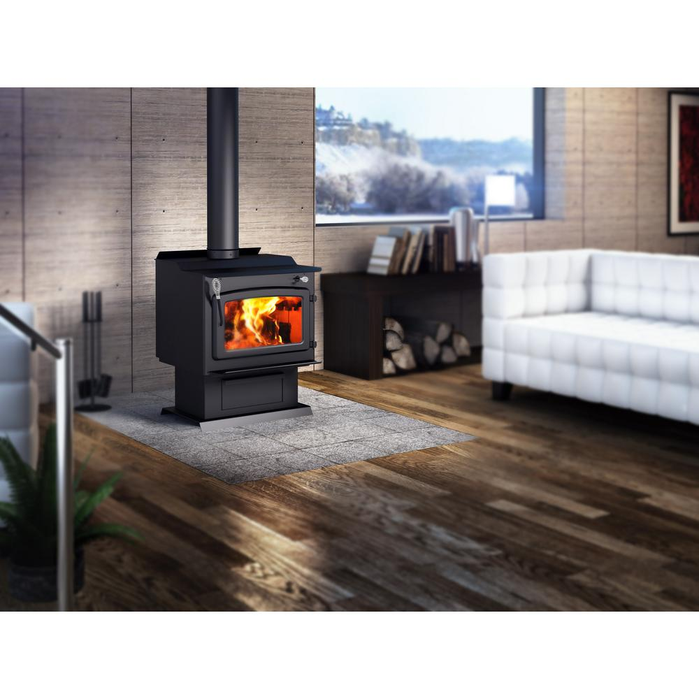 Century FW3000 25 in. Wood Stove 2000 sq. ft. with Blower EPA Certified