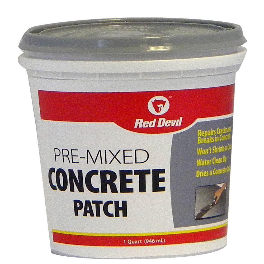 Red Devil 1 qt. Pre-Mixed Concrete Patch-DISCONTINUED