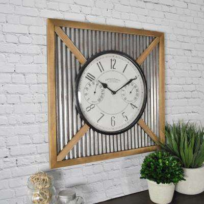 FirsTime Barn Outdoor Wall Clock