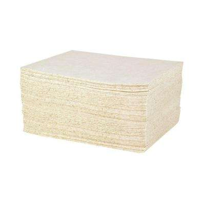 Oil Only Heavy-Duty 15 in. x 19 in. Absorbent Pads (100 Pads per Case)
