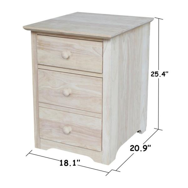 Finish Rolling File Cabinet