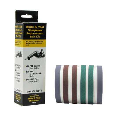 WorkSharp Belt Replacement Kit Assorted
