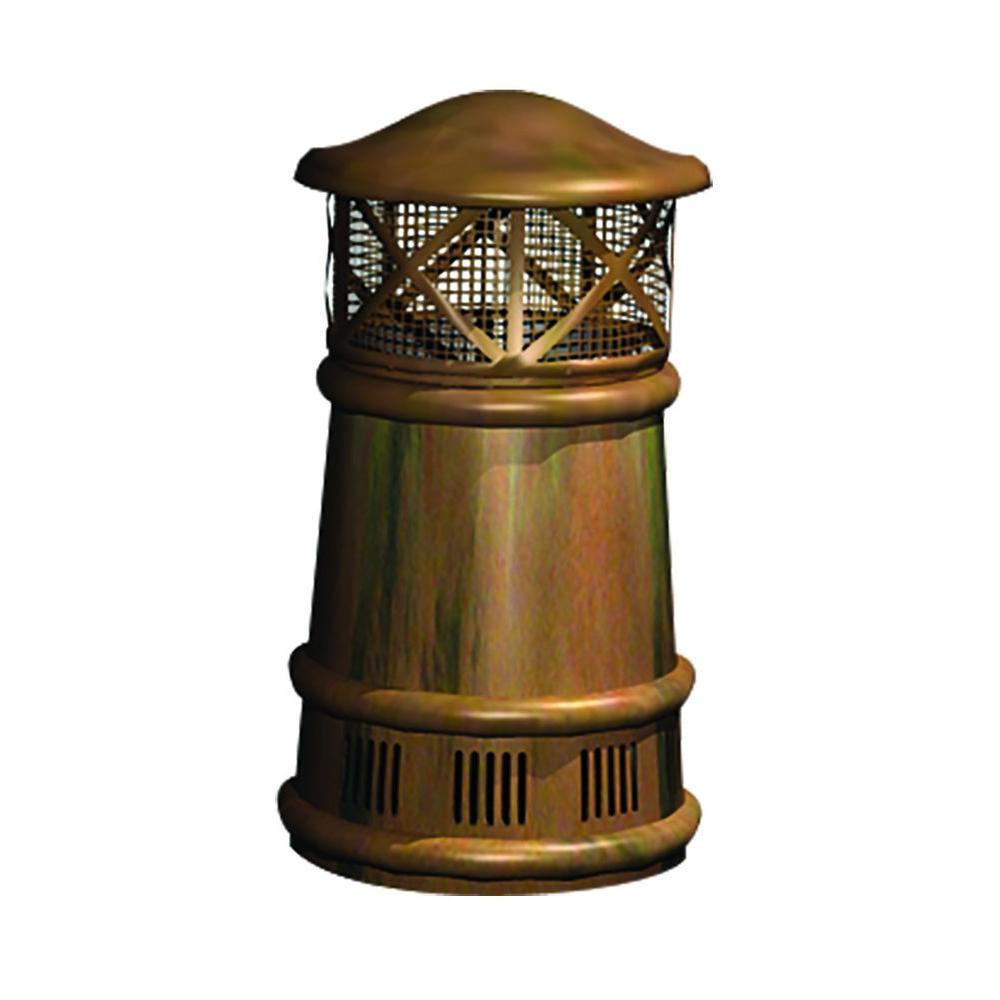 Bishop Copper Chimney Pot