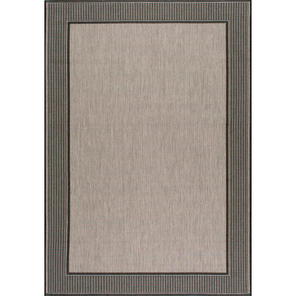 Nuloom Gris Gray 5 Ft 11 In X 9 Ft Outdoor Area Rug