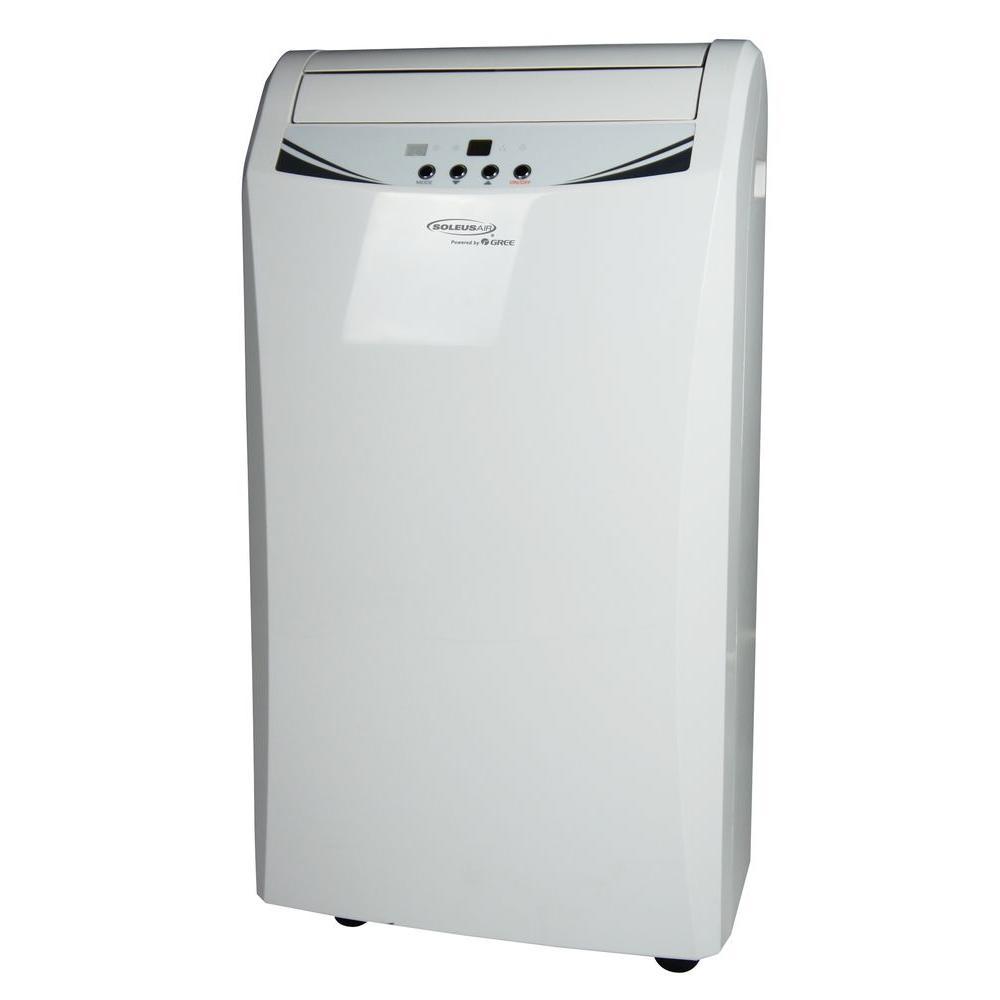 Soleus Air 12,000 BTU Portable Air Conditioner and Heat Pump with Dehumidifier-DISCONTINUED