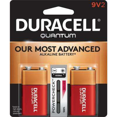 Quantum Alkaline 9-Volt Battery (2-Pack)