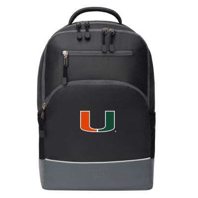 Miami 19 in. Black Alliance Backpack