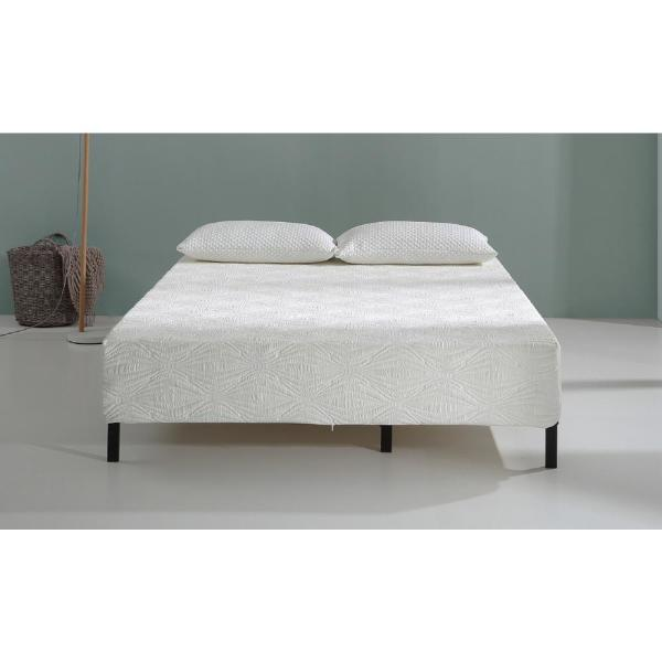 AC Pacific 10 in. Gel Infused Memory Foam Mattress with CertiPUR-US