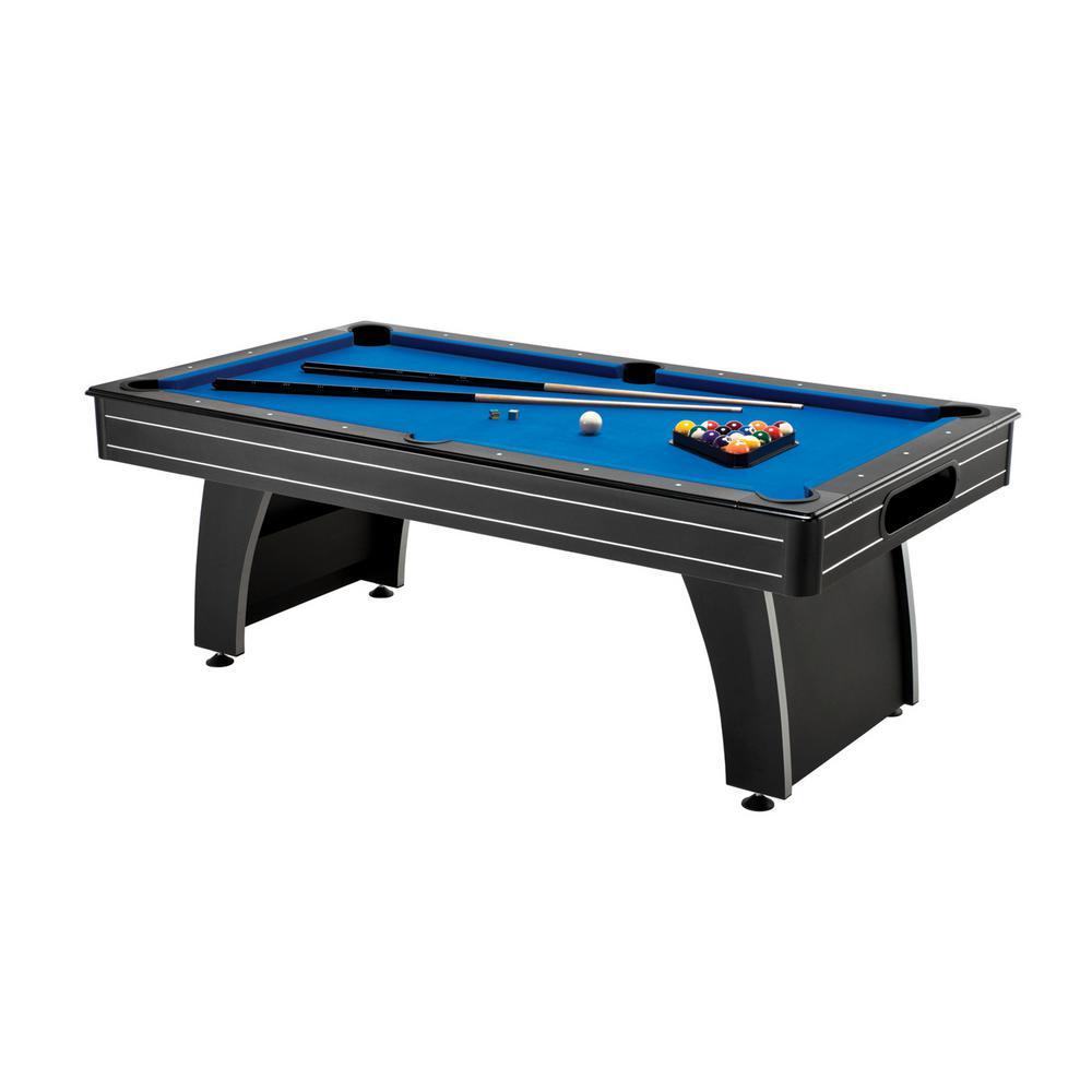 Tucson MMXI 7 ft. Blue Felt Billiard Table