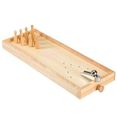 15.75 in. Tabletop Wooden Bowling Game