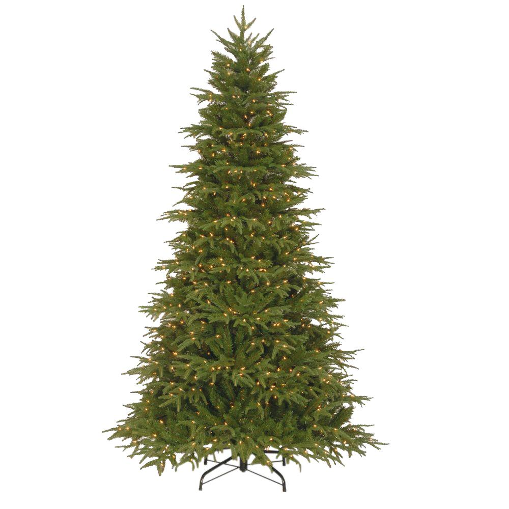 national tree company 75 ft northern frasier fir artificial christmas tree with clear lights - Frasier Christmas Tree