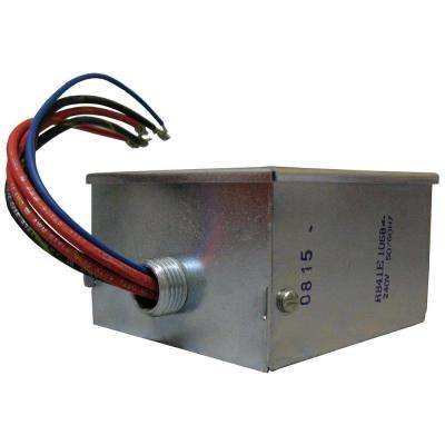10 KW 240-Volt to 24-Volt 2-Circuit Electric Heating Relay with Integral Transformer