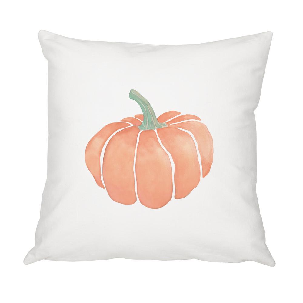 16 in. x 16 in. Harvest Pumpkin Throw Pillow