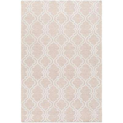 Goris Khaki 12 ft. x 15 ft. Indoor Area Rug