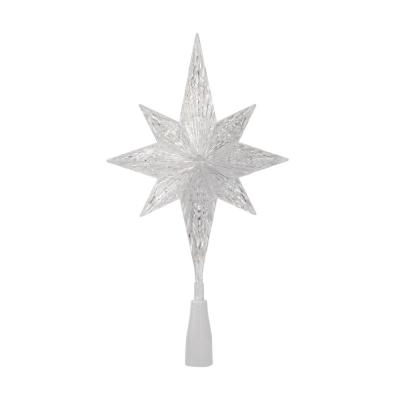 11 in. Color Changing LED Star Tree Topper