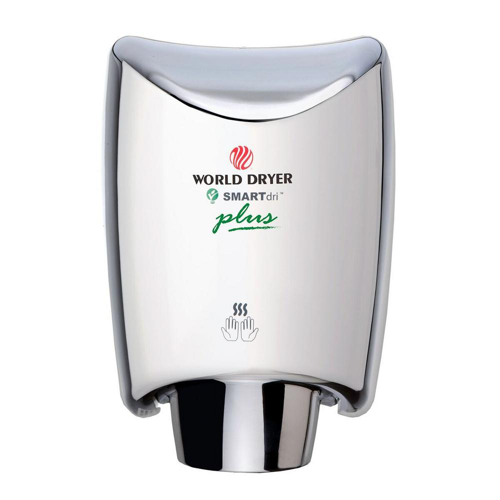 SMARTdri Plus Hand Dryer in Polished Stainless Steel