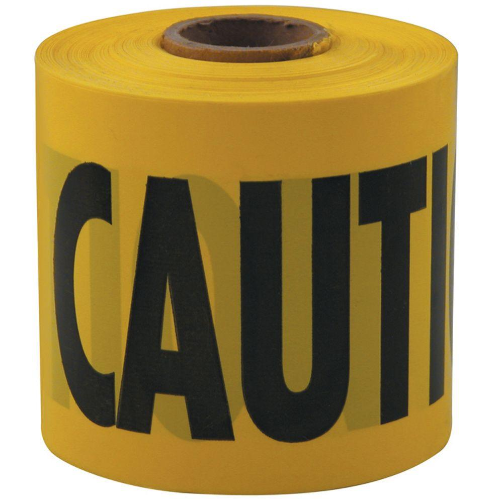 Empire 3 in. x 200 ft. Caution Tape