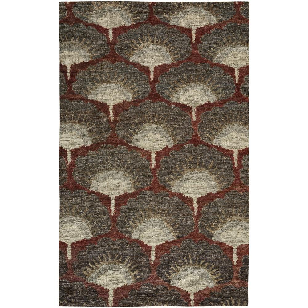 Williamsburg Ina Ruby 5 ft. x 8 ft. Area Rug
