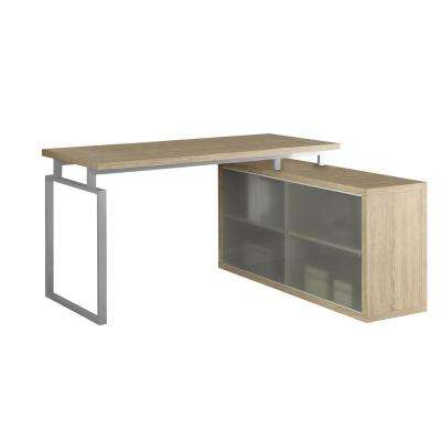 2-in-1 Piece Natural Office Suite