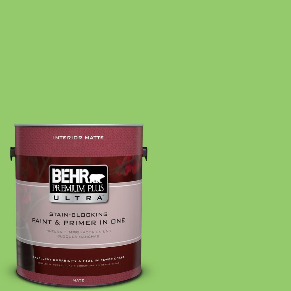 1 gal. #430B-5 Apple Orchard Flat/Matte Interior Paint